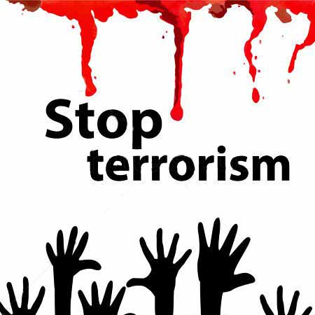 What Does Islam Say about Terrorism? Stock-vector-dripping-blood-no-terrorism-vector-355442120